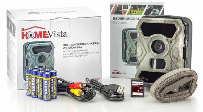 SecaCam HomeVista Full HD, Weitwinkel, 12 MP – Premium Pack